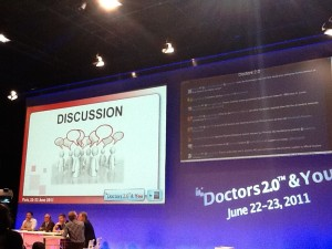 The main auditorium at Doctors 2.0