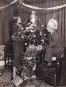 Harry and Margerie Playford Christmas 1932